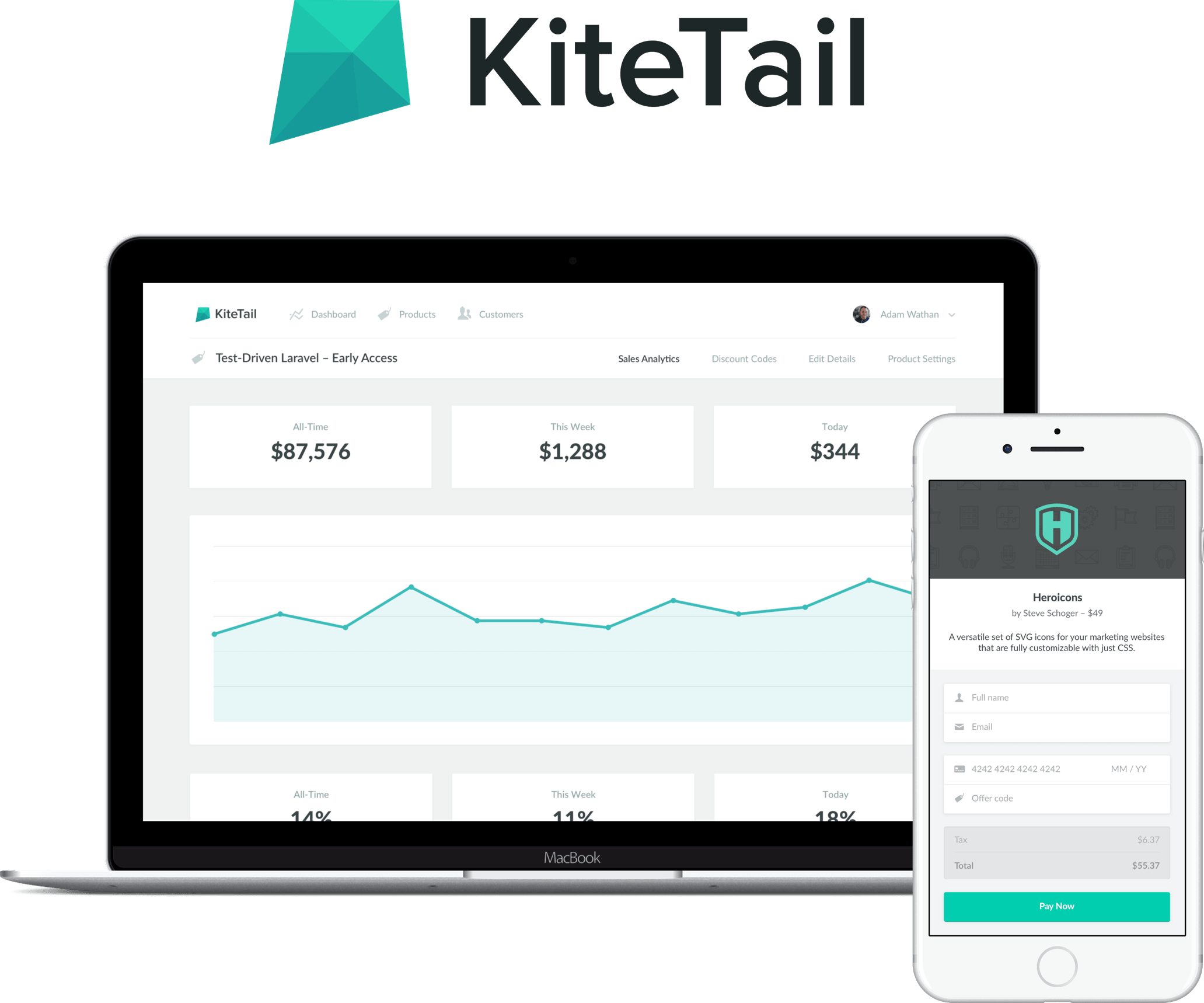 KiteTail screenshot